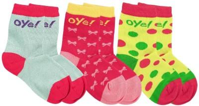 Oye Girl's Ankle Length Socks