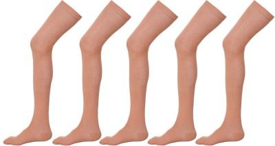 Khi Womens Solid Thigh Length Socks
