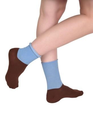 The Glu Affair Women's Printed Crew Length Socks