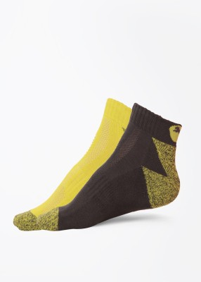 Puma Men's Solid Ankle Length Socks