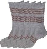 Alfa Jwala Men's Solid Crew Length Socks...