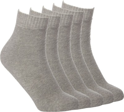 Simon Men's Solid Ankle Length Socks