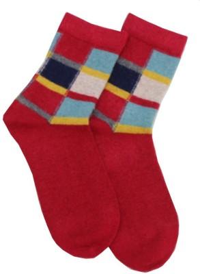 Romano Quality Women,s Striped Crew Length Socks