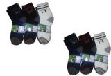 Autonation Men's Solid Ankle Length Sock...