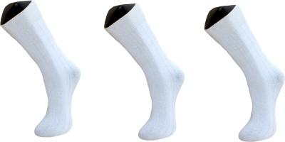 Marc Mens Solid Crew Length Socks