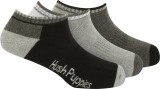 Hush Puppies Men's Striped No Show Socks