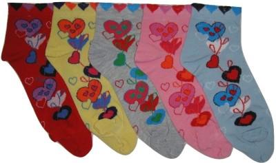 Well Wear Women,s Geometric Print Ankle Length Socks