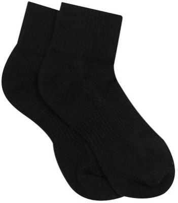 2Jodi Men's Solid Ankle Length Socks