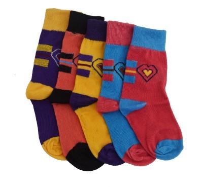 Gen Ladyrabbi Girl's Graphic Print Ankle Length Socks