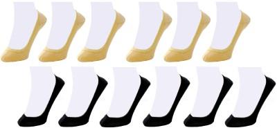 Neska Moda Women's Solid No Show Socks(Pack of 12) at flipkart