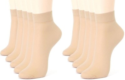 Cotson Girl's Ankle Length Socks
