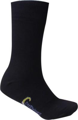 Cottstrings Men's Solid Crew Length Socks