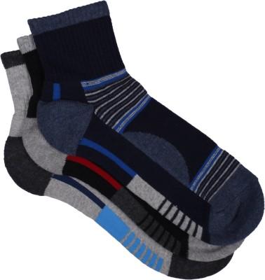 Sir Michele Premium Men's Striped Ankle Length Socks