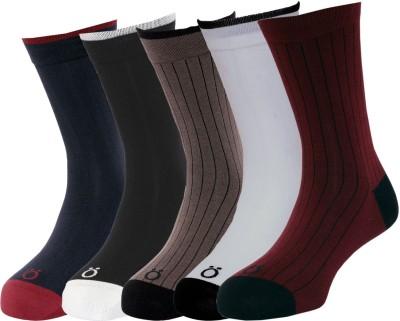 Lefjord Men's Printed Ankle Length Socks