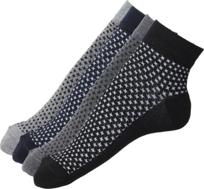 Stellen Men's Woven Ankle Length Socks