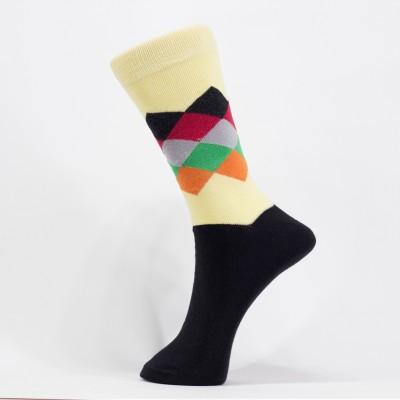 tadd Men's Solid Mid-calf Length Socks
