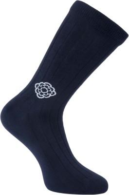 Cottoniche Coterie Men's Solid Mid-calf Length Socks