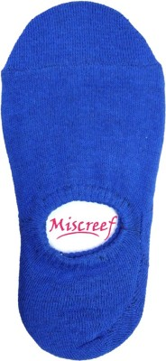 Miscreef Men's Solid No Show Socks