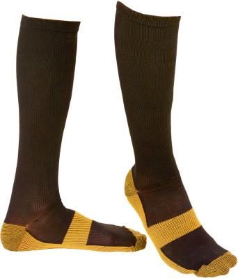 Amazeus Men's Solid Knee Length Socks