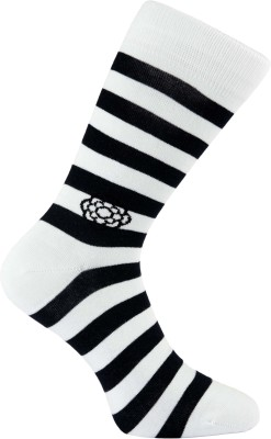 Cottoniche Horizon Men's Striped Mid-calf Length Socks