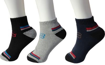 Peridot Credo Men,s Ankle Length Socks
