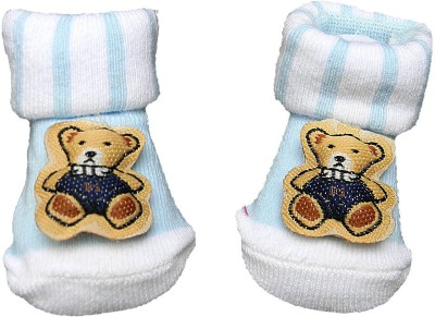 Swaraj Baby Boy's Embellished Footie Socks
