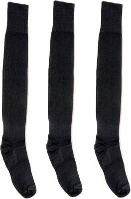 OshopTrades Men's Self Design Knee Length Socks
