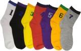 Cotson Men's Solid Crew Length Socks (Pa...