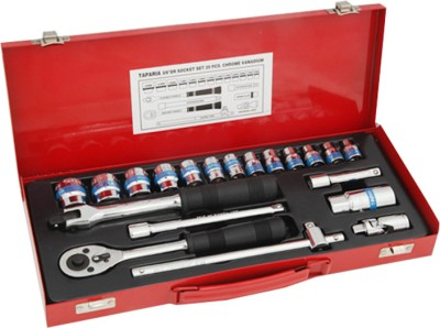Taparia-S-3/8-H-Socket-Set-(20-Pc)