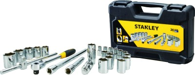 Stanley STMT72795-8 24 Pc Drive Metric Socket Set