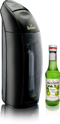 Mr. Butler Italia with Monin Green Apple Syrup (Recipe Booklet Induced) Soda Maker