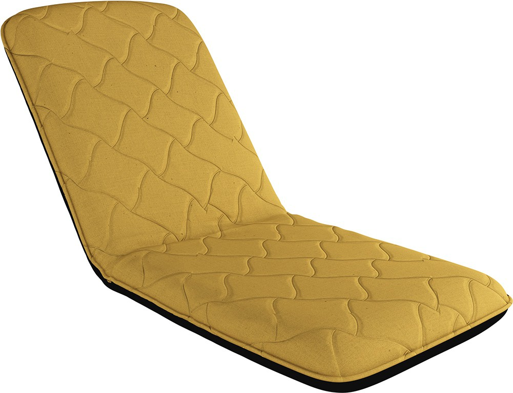 Camabeds Soffino Lite Recliner (Beige) Fabric Single Sofa Bed class=