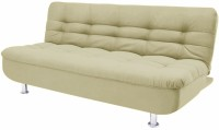 Fabhomedecor Hugo Double Fabric Sofa Bed(Finish Color - Cream Mechanism Type - Fold Out)
