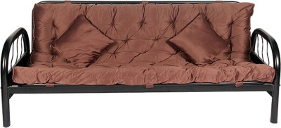 HomeTown Rockford_mauve Metal Single Sofa Bed(Finish Color - Mauve Mechanism Type - Pull Out)
