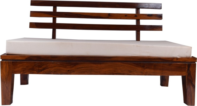 aAdinath Solid Wood Double Futon(Finish Color - Walnut Brown Mechanism Type - Pull Out)