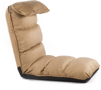 Camabeds Soffino Recliner Fabric Single Sofa Bed(Finish Color - Brown Mechanism Type - Fold Out)