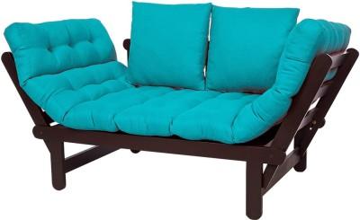 ARRA Engineered Wood Single Futon(Finish Color - Blue Mechanism Type - Fold Out)