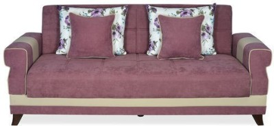 @home by Nilkamal Ibiza Solid Wood Double Sofa Bed