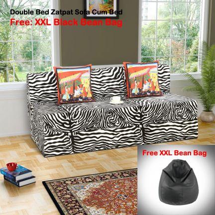 Dolphin Foam Double Sofa Bed