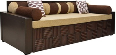 HomeTown Shina Engineered Wood Double Sofa Bed