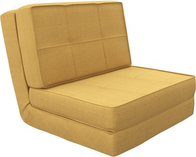 Camabeds Isten Futon Fabric Single Sofa Bed
