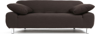 FabHomeDecor Fabric Double Sofa Bed