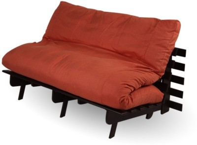 ARRA Engineered Wood Single Futon(Finish Color - Brown Mechanism Type - Fold Out)