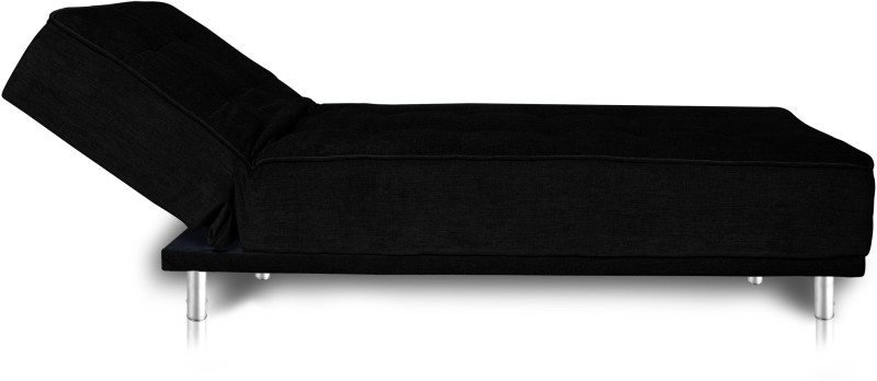 Dolphin Fabric Double Sofa Bed(Finish Color - Black Mechanism Type - Fold Out)