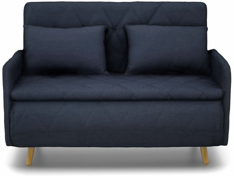 Urban Ladder Makati Foam Single Sofa Bed(Finish Color - Natural Mechanism Type - Fold Out)