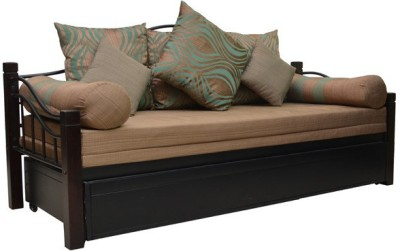 HomeTown Rosette Solid Wood Double Sofa Bed
