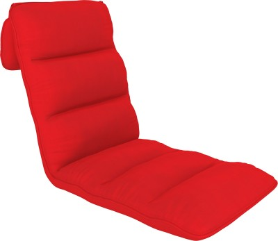 Camabeds Soffino Adjustable Recliner (Red) Fabric Single Sofa Bed