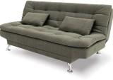 FabHomeDecor Fabric Double Sofa Bed (Fin...