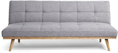 Urban Ladder Florentin Engineered Wood Double Sofa Bed(Finish Color - Grey Mechanism Type - Fold Out)