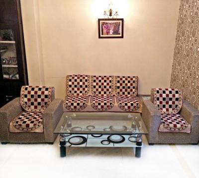 SHIV KIRPA SC021 SC021 Sofa Fabric(Multicolor 1.7 m)